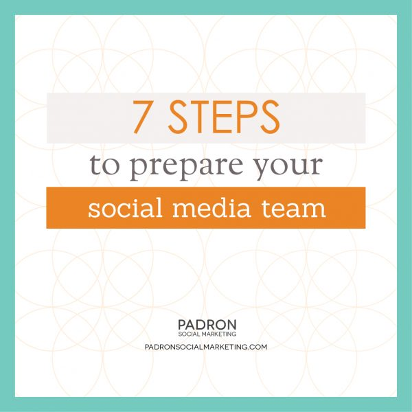 Prepare Your Social Media Team